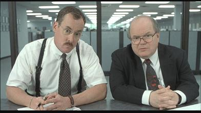 Bobs from Office Space. Good movie, not who we want to be.